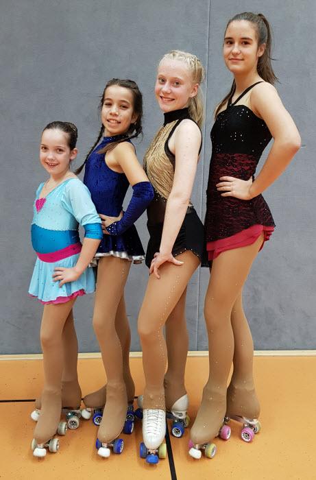 Mia, Kiara, Celiné und Nina