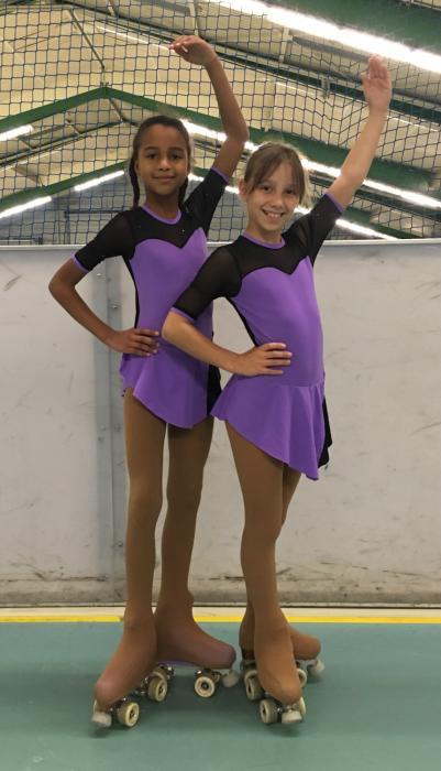 Olivia und Angelina